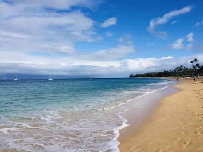 Kaanapali Beach on Maui