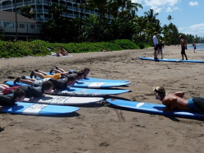 Surfing Lessons in Maui
