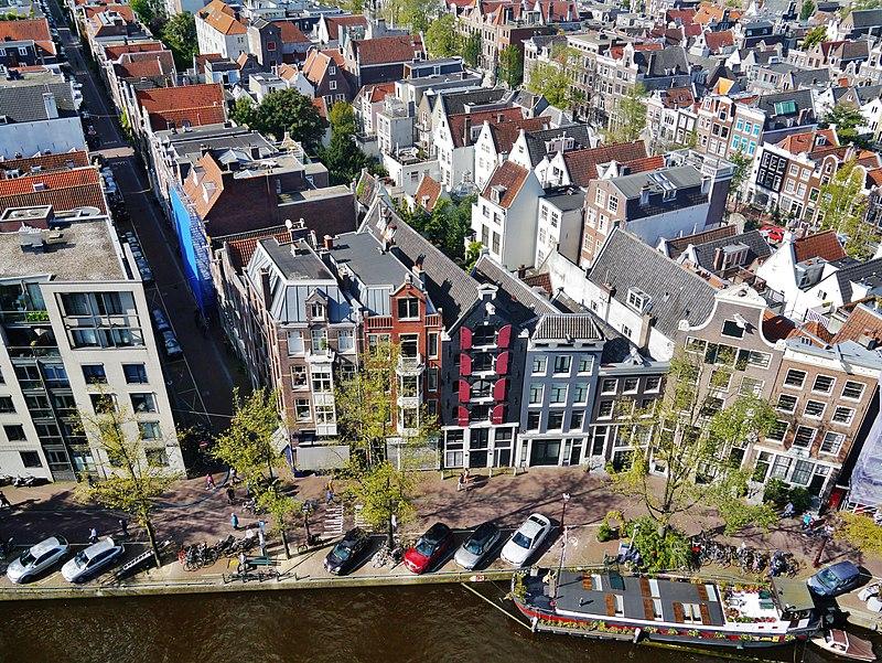 Top of Westerkerk Amsterdam