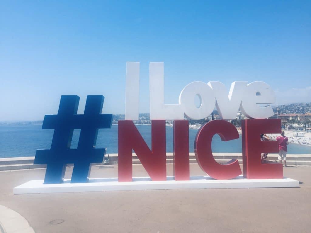 I Love Nice - Nice, France