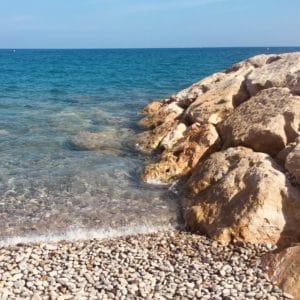 pebble beach, nice, france