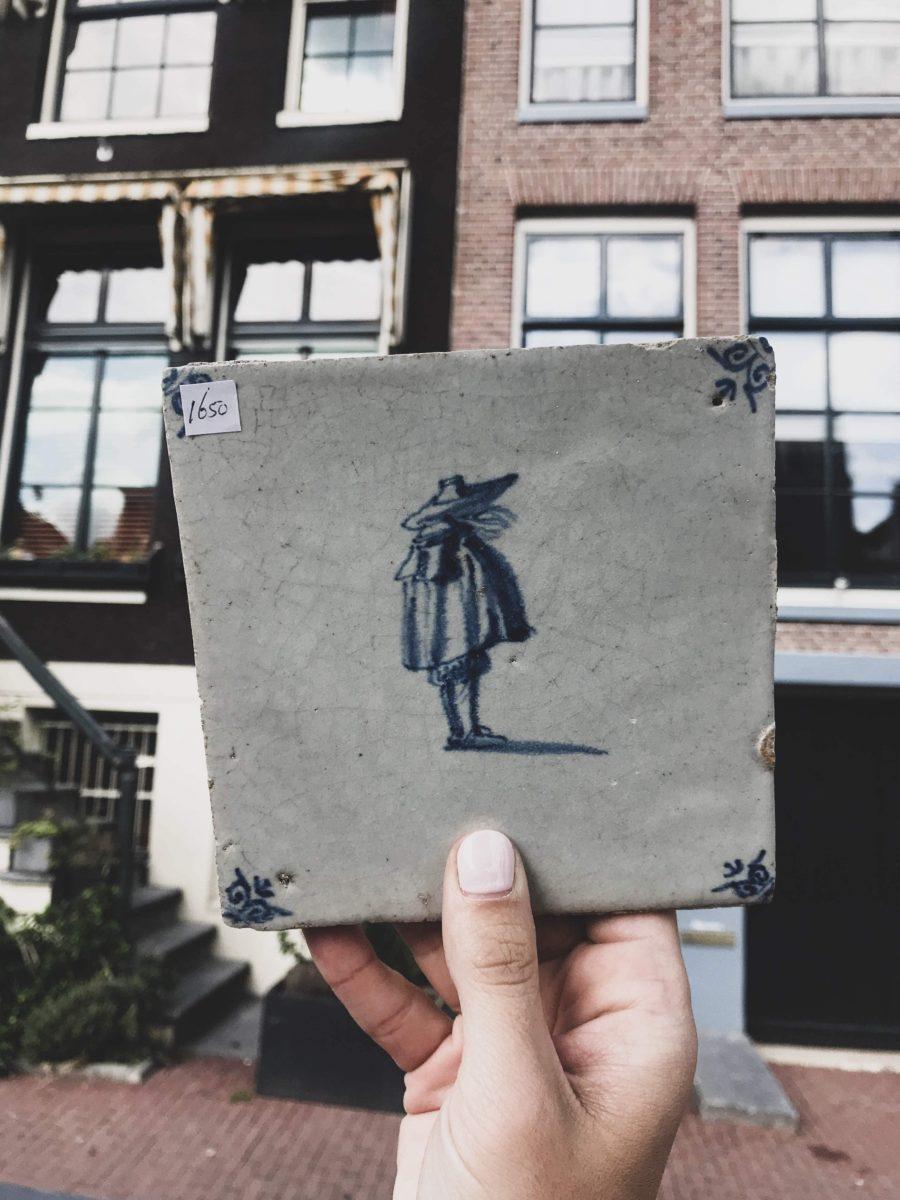 Delft Tile - Dutch Amsterdam Tile