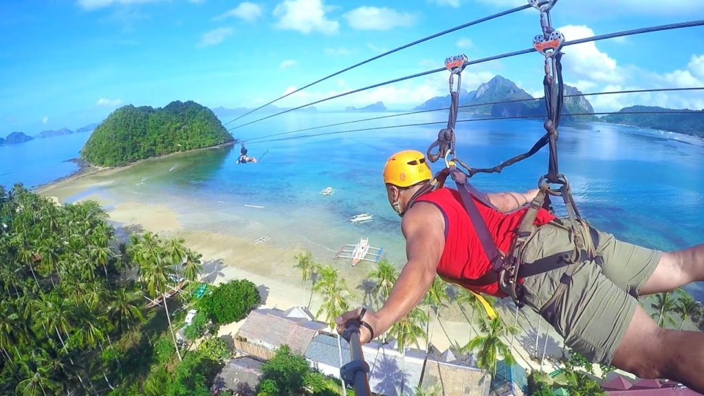 Zipline in the Philippines