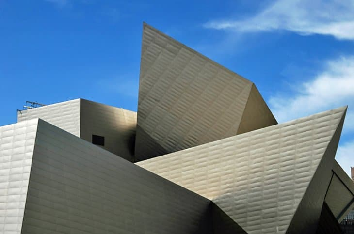 magnificent building of denver art museum is a must-visit for all art lovers