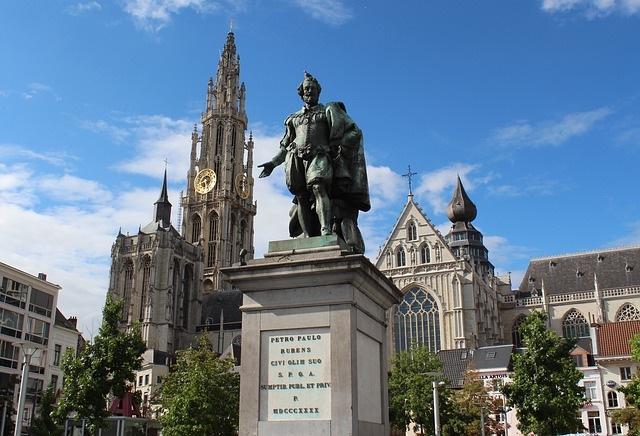 Antwerp, Belgium Square