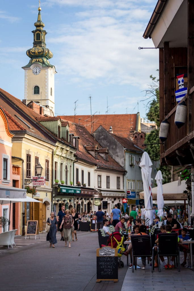 The best place to spend an evening during 48 hours in Zagreb