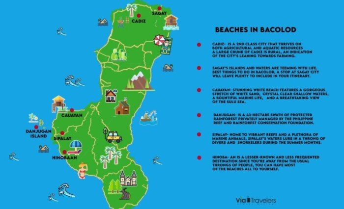 Map of Bacolod City