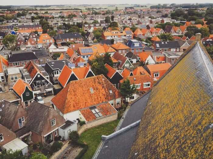 Church in Den Burg, Holland