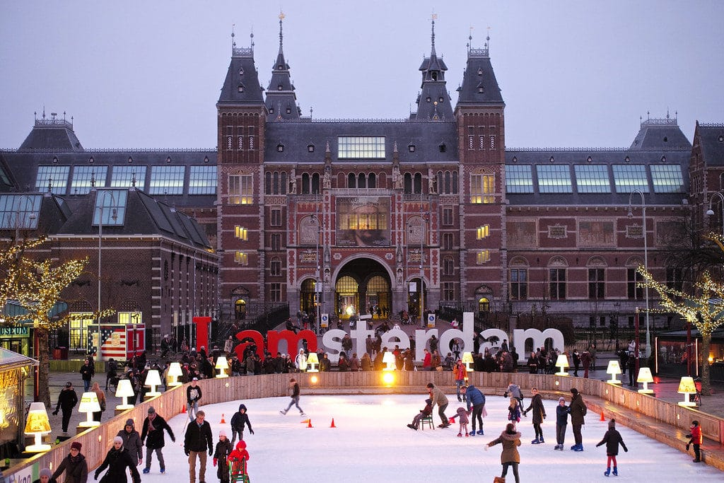 Amsterdam Ice Skating
