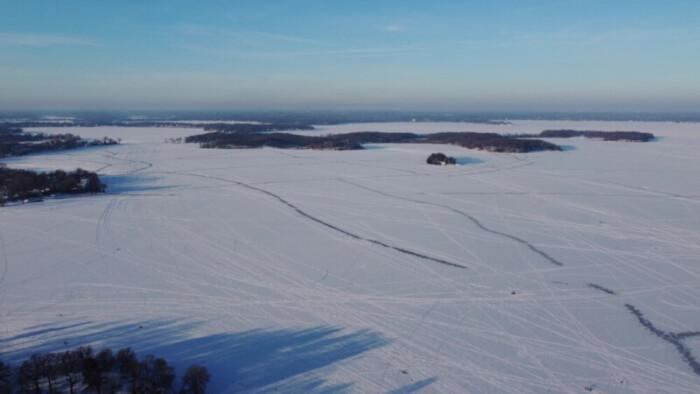 Lake Minnetonka Drone - Above Lake Minnetonka