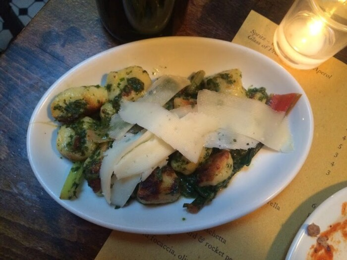 Gnocchi at Polpo London