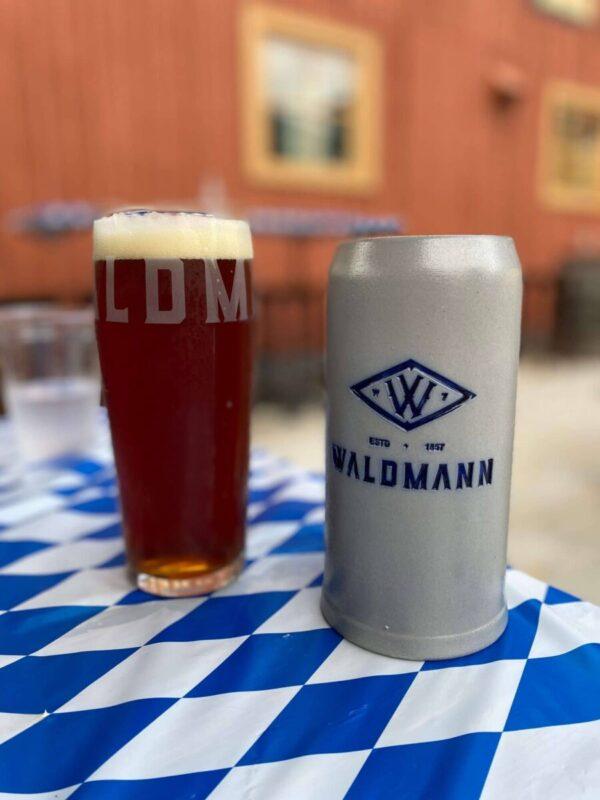 Beer at Waldmann Brewery