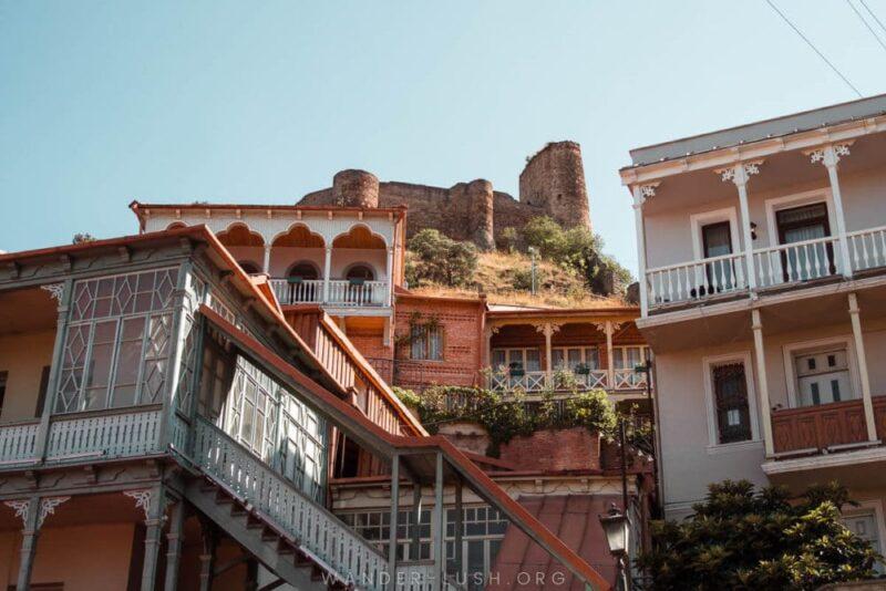 Tbilisi, Georgia - View of Buildings
