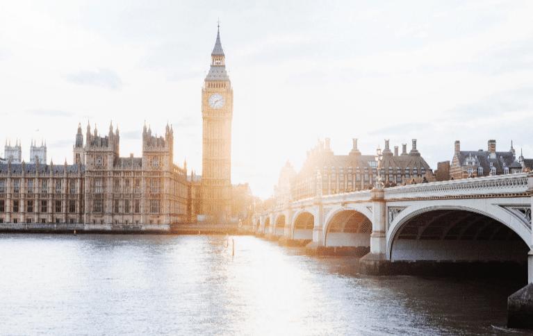 London - Big Ben and Thames River