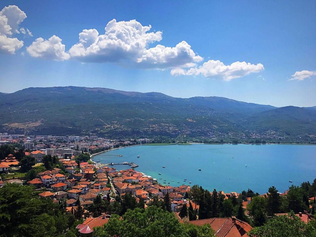 Macedonia View of Ocean
