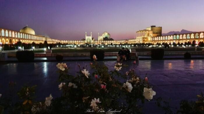Isfahan, Iran - Square at Sunset