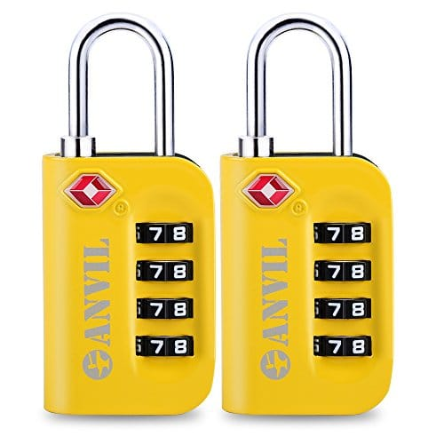 Anvil luggage locks