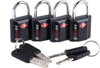 Forge luggage locks