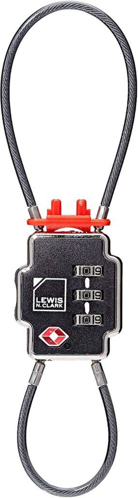 Lewis Clark luggage locks