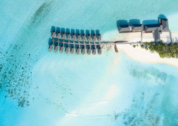Affordable overwater bungalows in Summer Island Maldives