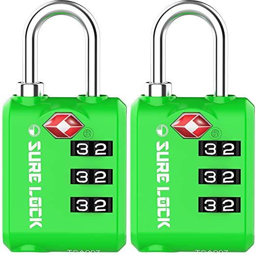 TSA approved Locks by Sure Locks