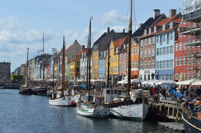 Copenhagen Denmark Boats