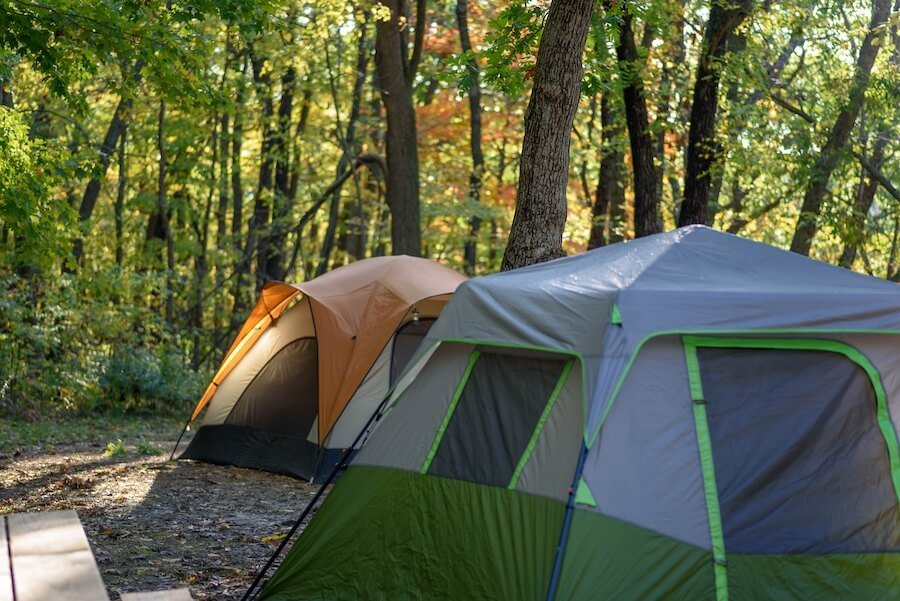 Camping in Wisconsin