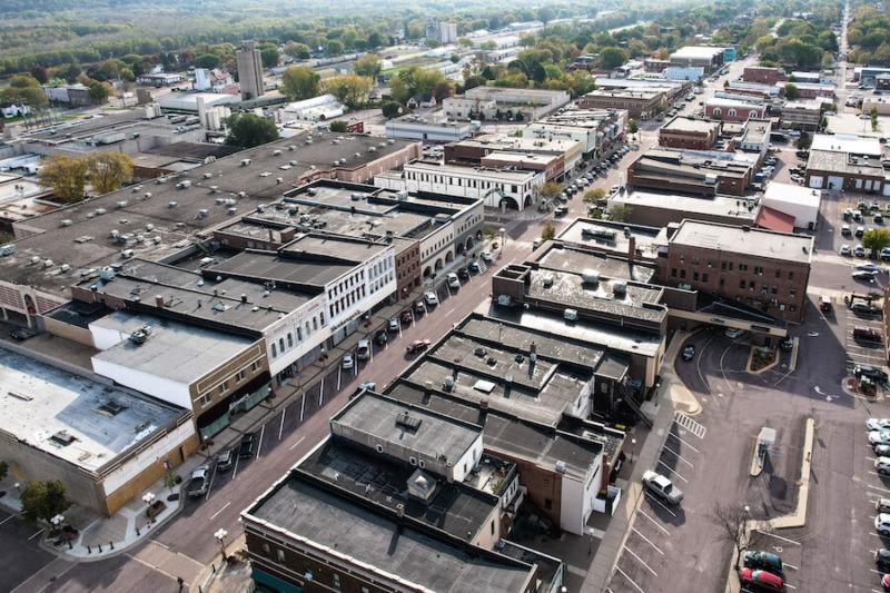 New Ulm, Minnesota Main Street