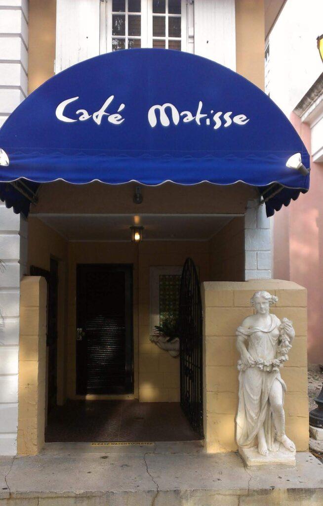 Cafe Matisse, Nassau