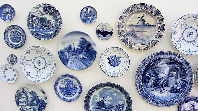Delft Blue souvenirs