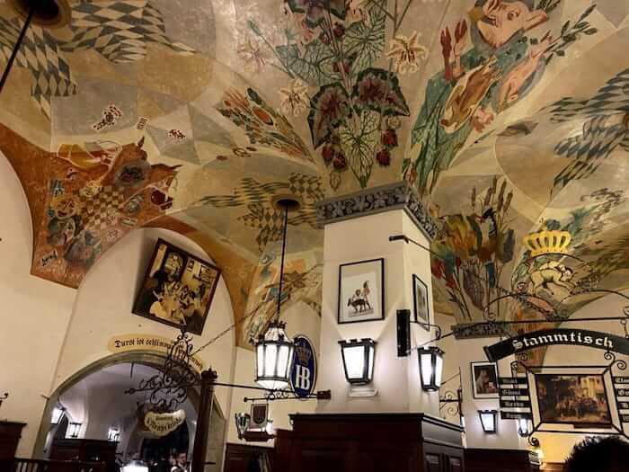 Hofbrauhaus Painted Ceiling