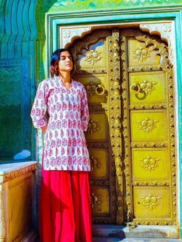 Green Gate at City Palace, Jaipur