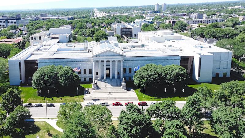 Minneapolis Institute of Art Aerial