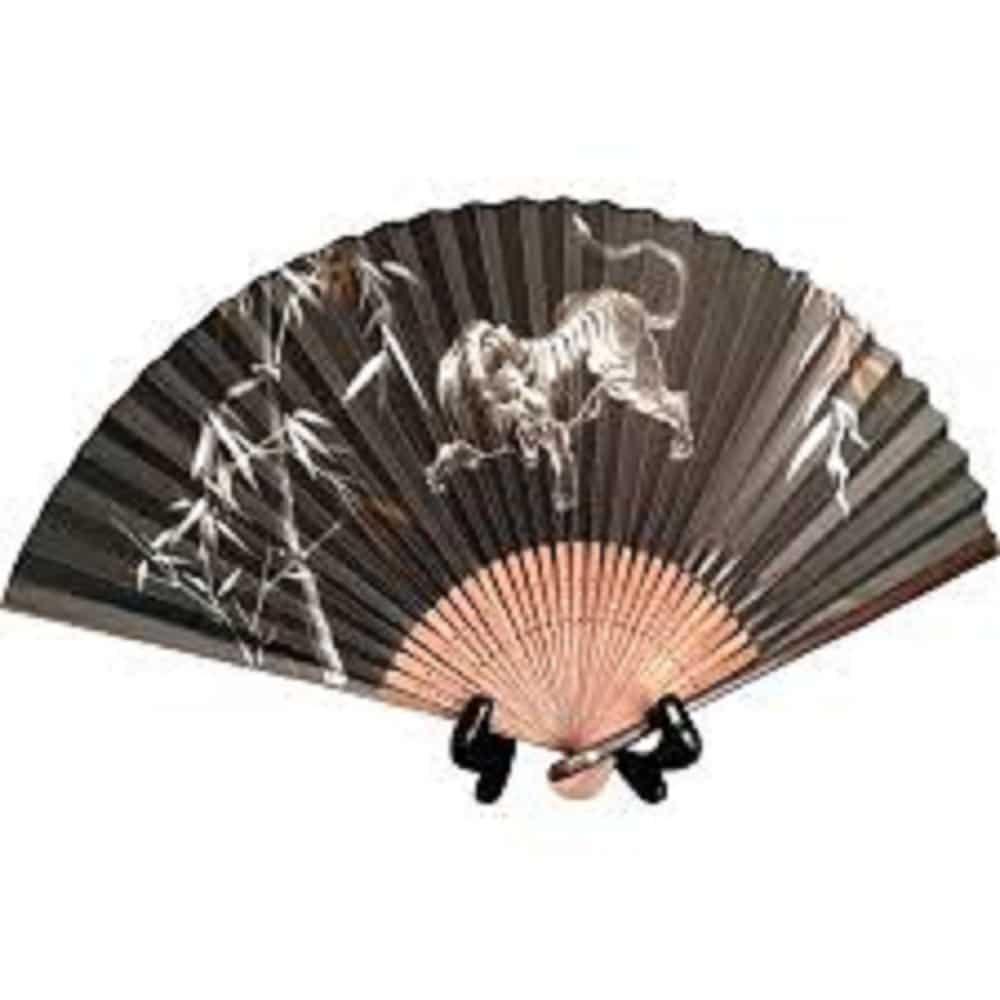 A hand-held Japanese sansu folding fanu
