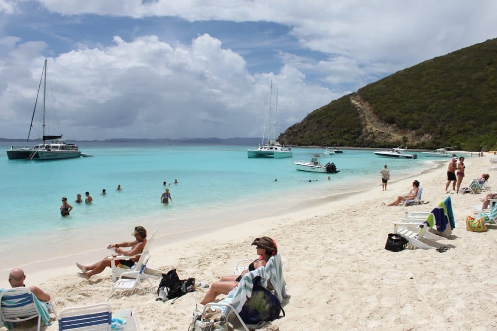 Jose Van Dyke is a paradise in the Caribbean Sea and also one of the least crowded islands