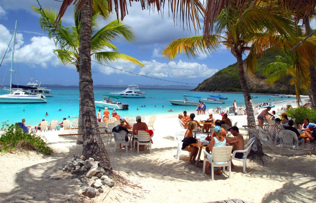 Jost Van Dyke deserves credit for its amazing beaches. But Instead, is still remains as an underrated island in the Caribbean Sea