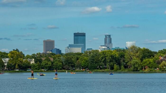 Lake of the Isles - Minneapolis, Minnesota