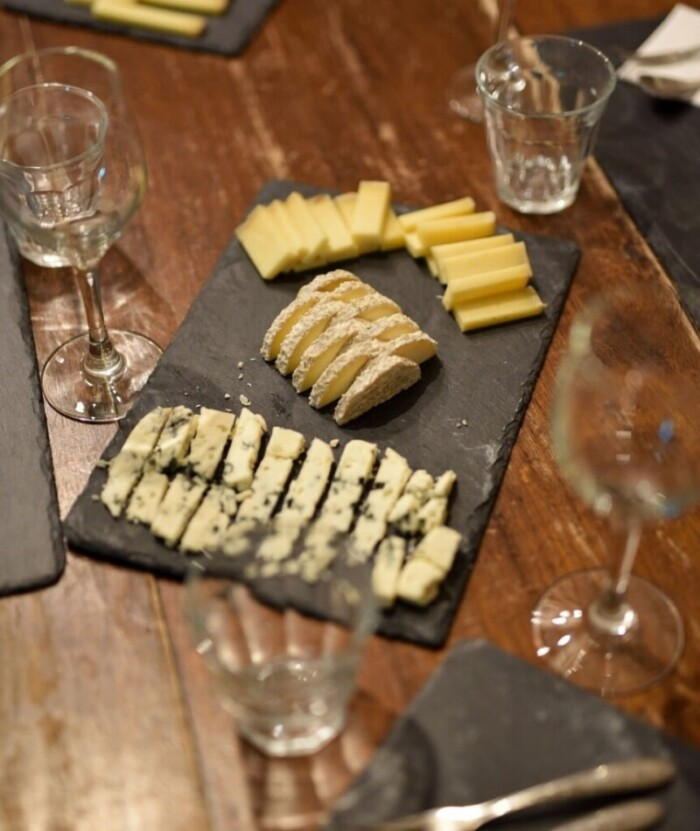 Wine and Cheese at Paroles de Fromagers