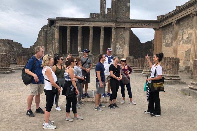 Pompeii, Herculaneum tour