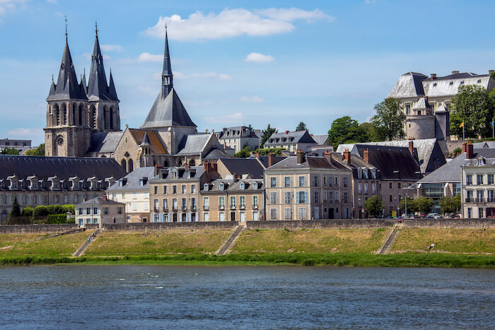 Blois, France in Loire Valley
