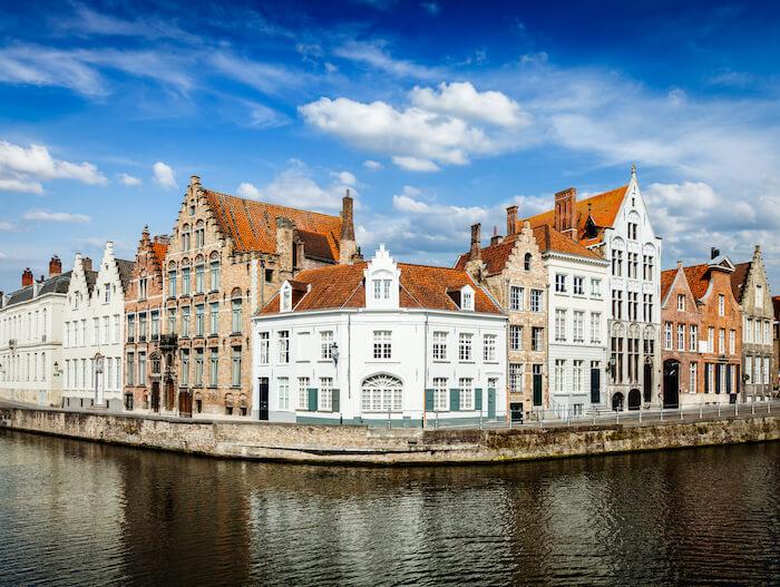 Bruges Canals in Belgium