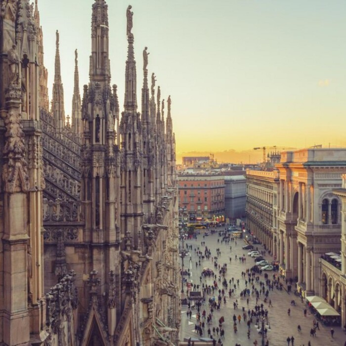 Milan in the spring