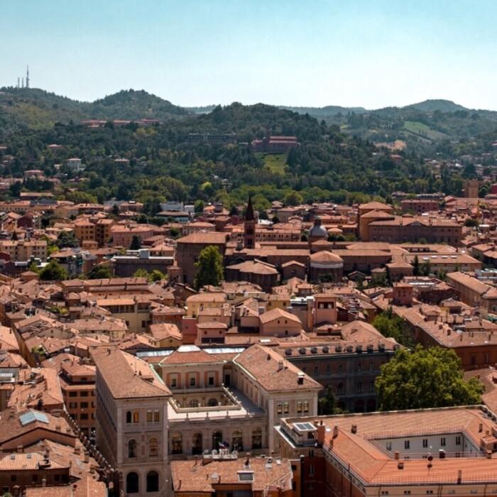 Bologna in Italy