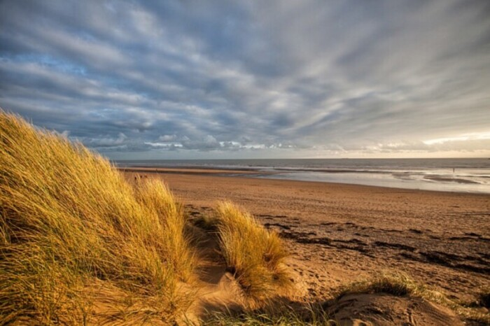 The dunes of Camber Sands.
