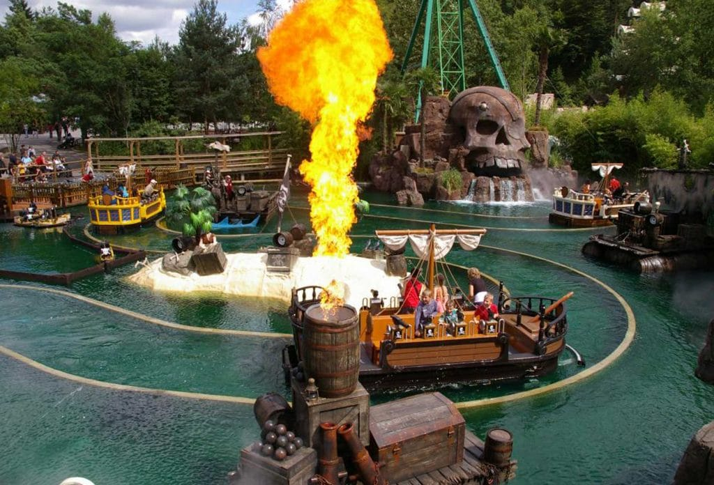 Theme parks in France