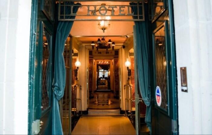 L'Hotel is a Bohemian Left Bank gem.