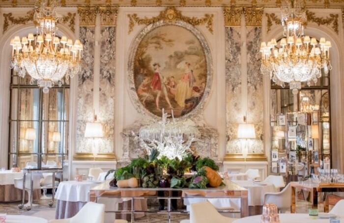 Michelin starred Alain Ducasse's Restaurant Le Meurice