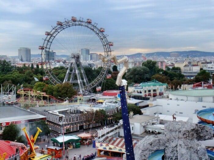 Enjoy Vienna's Giant Ferris Wheel
