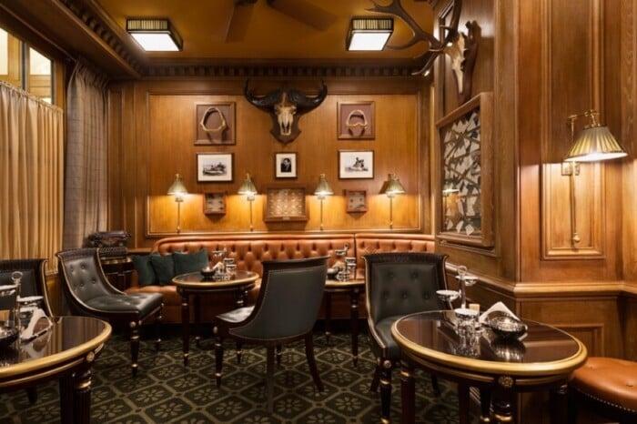 Interior of Bar Hemingway at famous hotel Ritz Paris