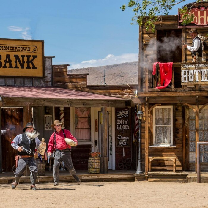 The history of pioneertown